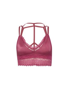 top lace rosa