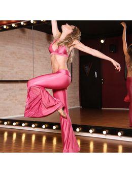 flare lace rosa