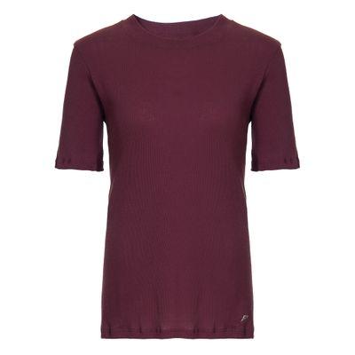 Tshirt Canelado Vinho M