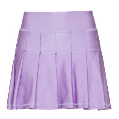 Shorts-Saia-Dots-Violet-Frente